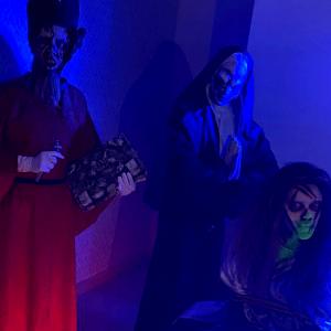 Palhaço IT e teste do medo são atrações de Halloween no Nações
